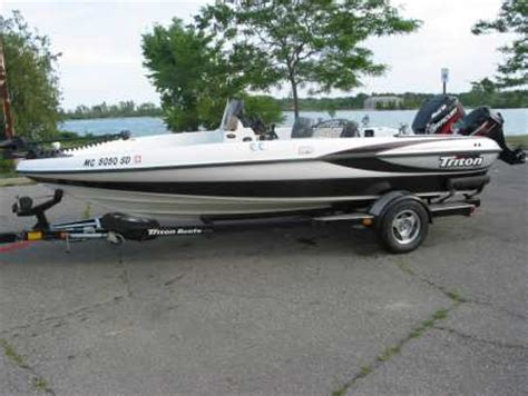 used triton walleye boats for sale chad sandy s triton boat for sale on walleyes inc