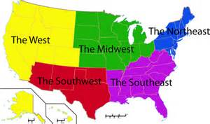 introduction webquest quot regions of the united states quot