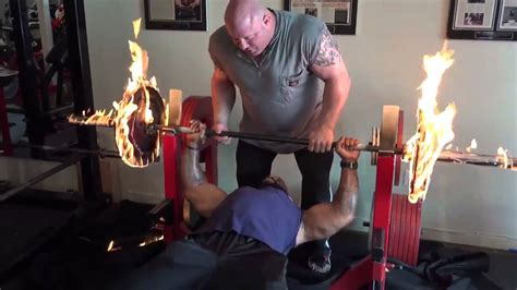 ct fletcher bench press workout ct fletcher flaming bench press