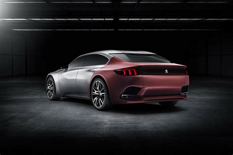 peugeot exalt peugeot details exalt four door coupe concept before
