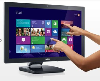 add a touchscreen monitor to your windows 8 pc pc advisor