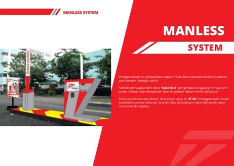 Manless Parkir Parking company profile trust parking 1 pdf