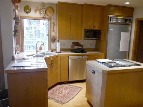 Kitchen Cabinet Refacing Island by Mercer Island Traditional Kitchen Reface