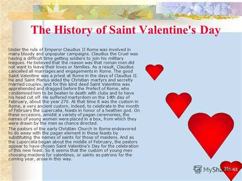 valentines day story for history it all page 6