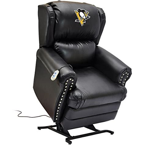 Pittsburgh Penguins Recliner pittsburgh penguins recliner penguins leather recliner penguins easy chair