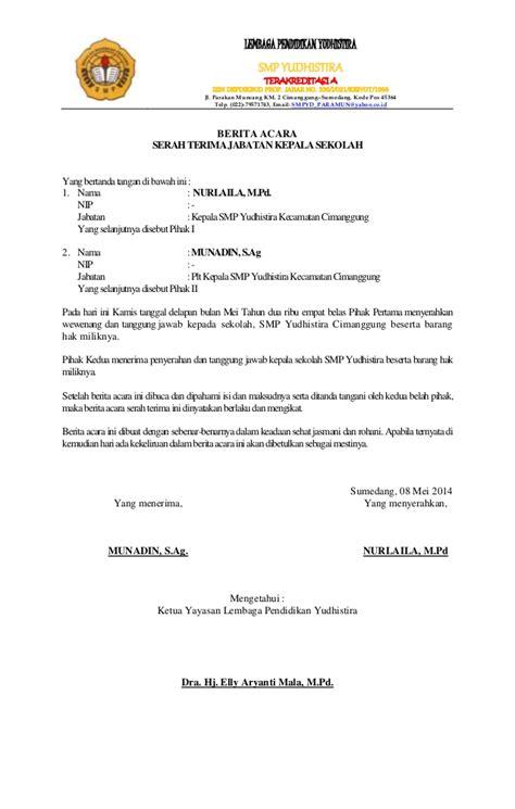 contoh surat pernyataan serah terima barang asaljadidotcom