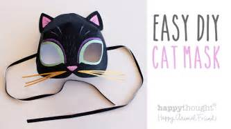 Cat Mask Template by Printable Cat Mask Template Photo Tutorial