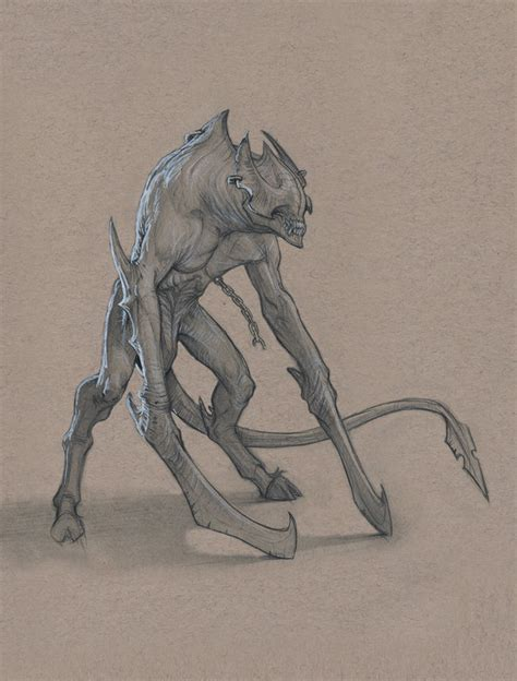these drawings of monsters by anastasios gionis will give
