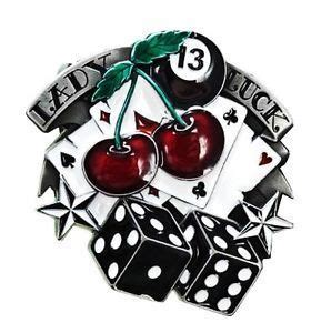 lady luck pin up tattoo designs buckle g 252 rtelschnalle luck 13 rockabilly