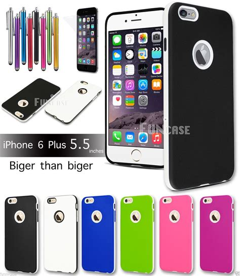 Silikon Ultrathin Soft Iphone 7 Plus Black Matte Polos affordable variety iphone 6 4 7 plus 5 5 rugged rubber