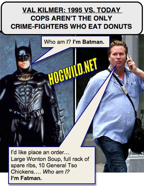 Val Kilmer Batman Meme - katie holmes pictures jokes katie holmes poses in clown