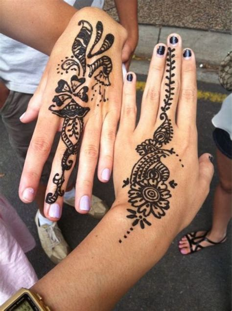 hand tattoo tumblr simple henna tattoos www pixshark