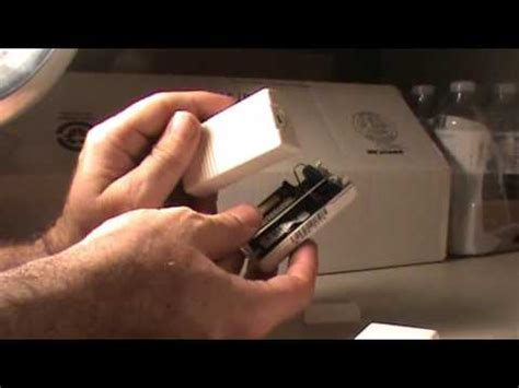 Mba Battery Replacement by How To Replace Battery On 5816 Wireless Door Sensor