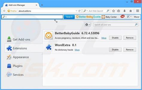 better vires reset how to get rid of betterbabyguide toolbar virus removal