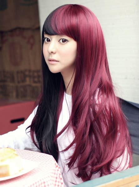 2 korean hair dye products to consider hair dye tips dvagoda com split hair the latest half and half hair colour trend