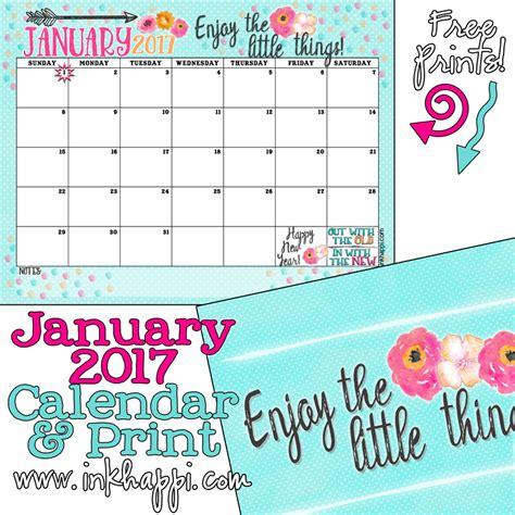 Count Calendar January 2016 Calendar Printable With Year Count Calendar