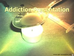 Withdrawal And Detox Powerpoint Template by Heroin Powerpoint Templates