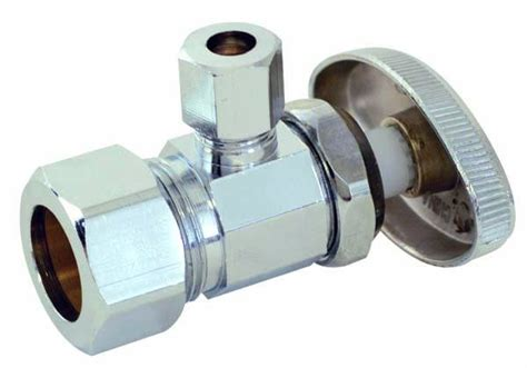 Angle Stop Plumbing by Stop And Angle Stop Water Supply Valves