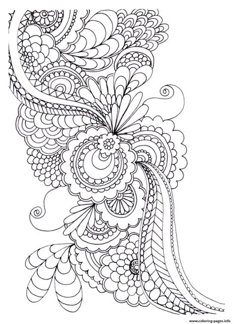 coloring pages for adults abstract flowers coloring pages for abstract flowers gallery for gt