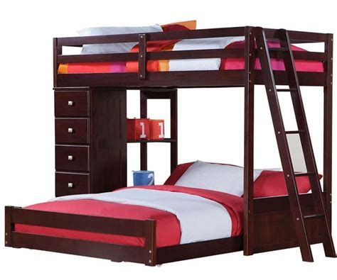 bunk bed queen queen bed bunk beds with queen on bottom kmyehai com