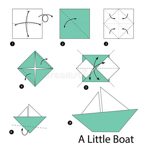 origami little boat instructions step by step instructions how to make origami a little