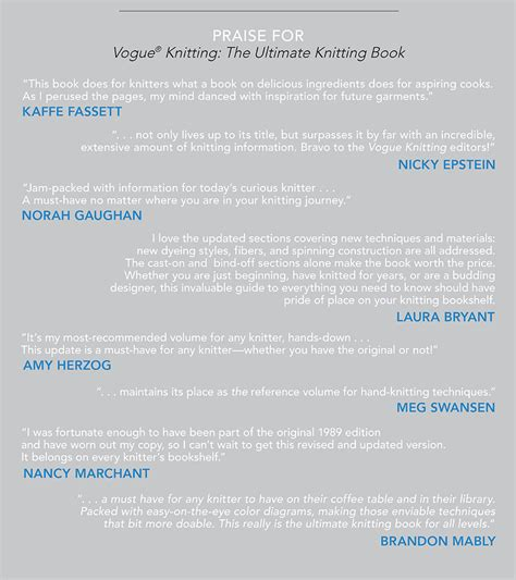 vogue knitting the ultimate knitting book completely revised updated books vogue knitting the ultimate knitting experience jeux de
