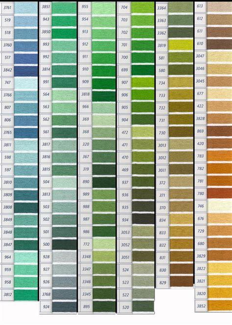 Benang Dmc 117 740 Tangerine tabla de colores dmc y matizados carta de colores de dmc mouline articulo 117