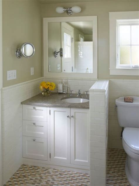 Cottage Bathroom Ideas by Small Cottage Bathroom Houzz
