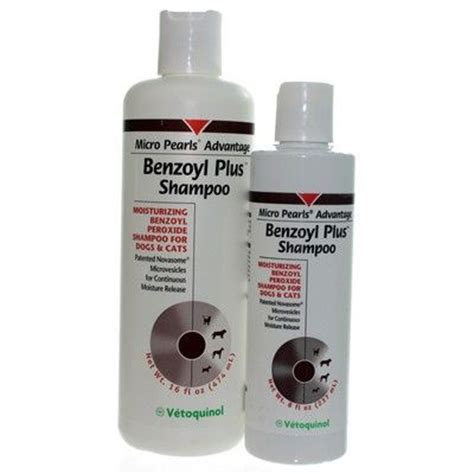 peroxide for dogs benzoyl plus shoo benzoyl peroxide hydra pearls