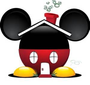 mickey mouse house clipart clipartsgram