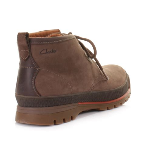 clarks narly hill gtx brown hiking walking waterproof