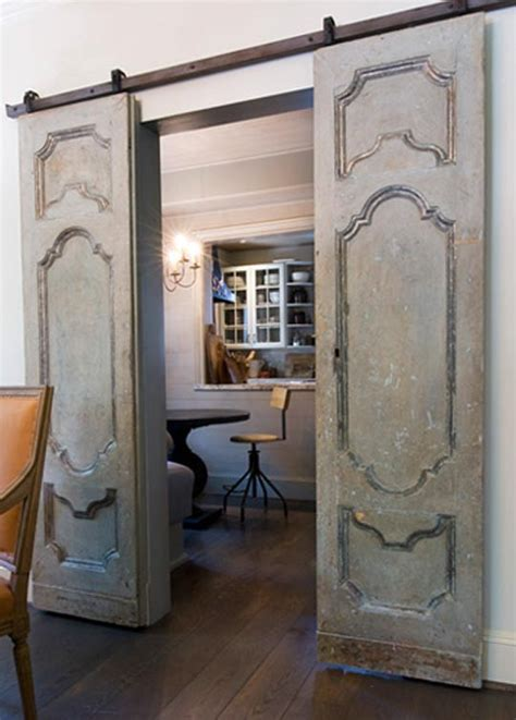 Interior Doors On Tracks Vintage Doors On Door Track Hardware So Country Design The You Want To Live