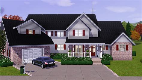 Sims 3 Family House Plans My Sims 3 Sweet Home Americana By Sims 3 Properties