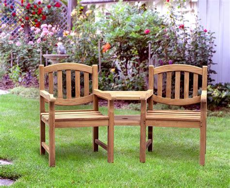 companion bench ascot teak garden companion seat bench garden tete a