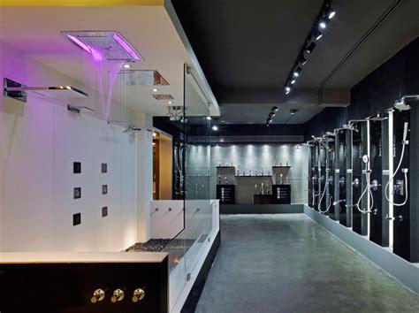 modern home design showroom nu de interpolates crystalline forms on emporio showroom
