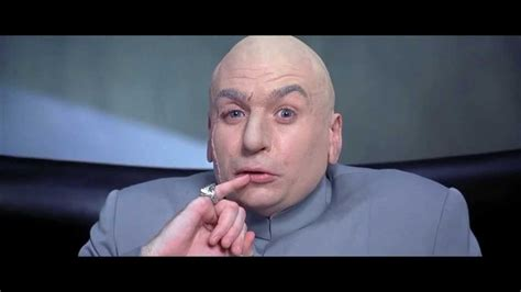 One Million Dollars Meme - 1 million dollar dr evil aus austin powers deutsch youtube