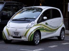 Electric Vehicle Mitsubishi Miev Electric Car Eco Vehicle Exchange