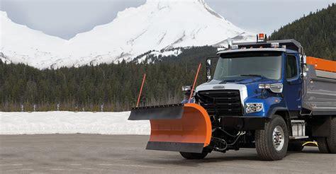 snow plow for truck snow plow truck vocational trucks freightliner trucks