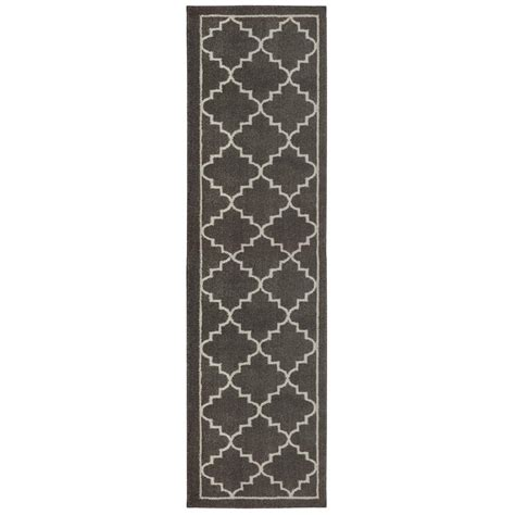 Floor Runner Rugs Home Decorators Collection Winslow Walnut 2 Ft X 8 Ft Runner 492717 The Home Depot