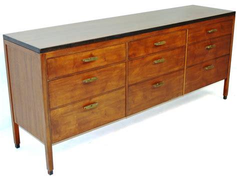 Nine Drawer Dresser by Mid Century Of Nine Drawer Dresser At 1stdibs