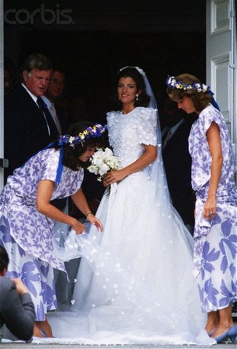 caroline kennedy schlossberg the wedding reception was held in a white tent on the lawn