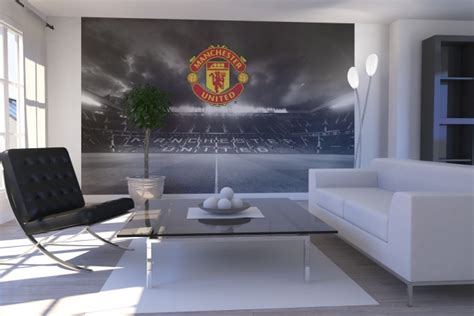 manchester united wall murals watford decorators childrens bedrooms decorating wallpaper and murals