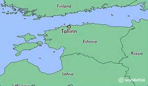 where is located on the world map where is tallinn estonia where is tallinn estonia