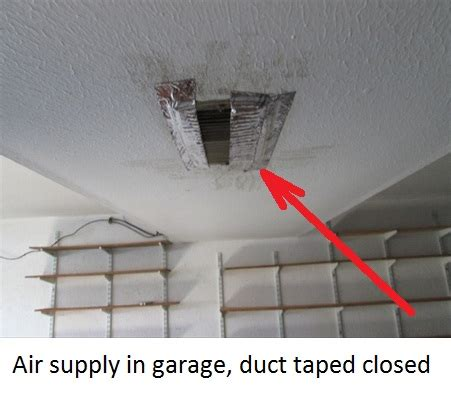 Dryer Vents Into Garage by Common Garage Firewall Related Issues Gaudet Inspections Llc
