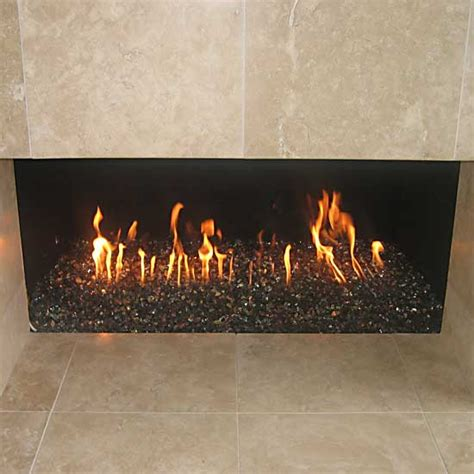 we will be updating our fireplace to use glass rocks