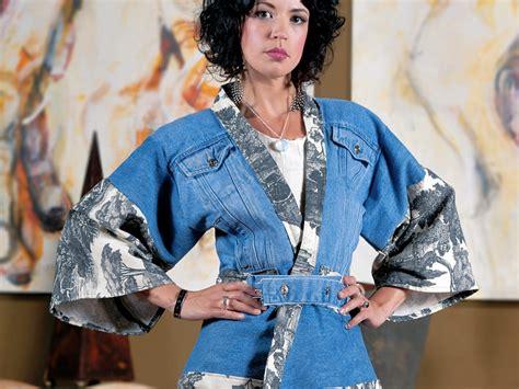 Denim Kimono Outer denim mania ecouterre