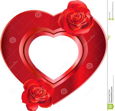 rosa con forma de coraz 243 n para colorear marcos en forma de corazones dia de la madre gratis