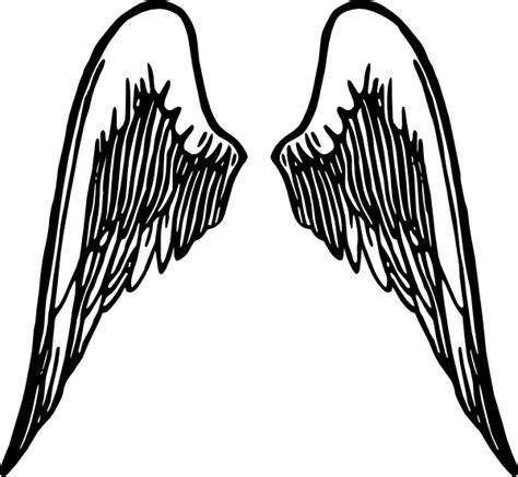 gambar tattoo png clipart best angel wings tattoo clip art at clker com vector clip art