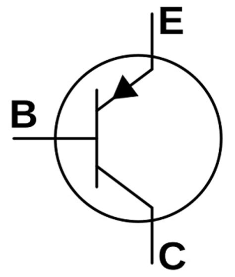 transistor pnp symbol difference between npn and pnp transistor