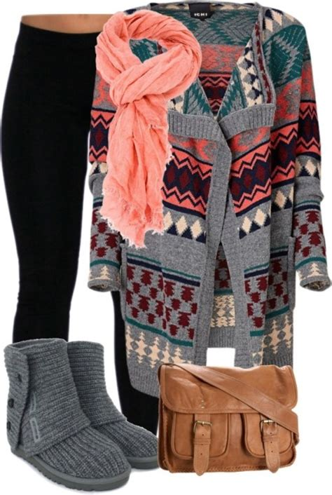 cozy sweater outfit ideas  winter styles weekly
